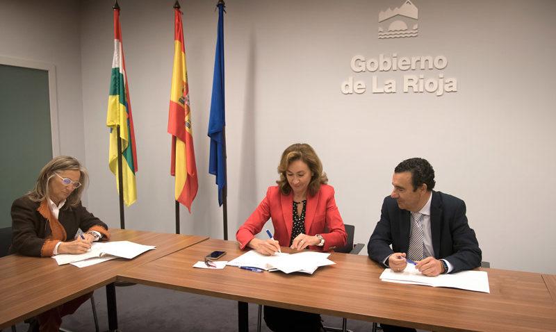 acuerdo fundación Rioja Salud Colegio Médicos La Rioja